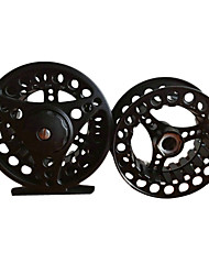 7/8 85mm Fly Reel with a Spare Spool (Black/Silver/God)