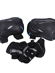Knee Brace Sports Support Eases pain / Protective / Adjustable / Muscle support Skiing / Skating / Motorbike / Snowboarding Black