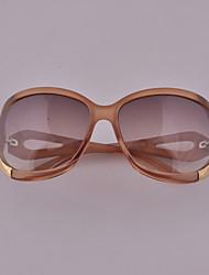 AIMI Sweet Elegant Twist Frame Sunglasses(Champagne)