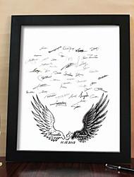 personnalisé signature châssis toilé - ailes de l'amour (y compris châssis)