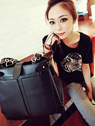 Femmes Shoulder Bag Black Élégant