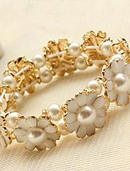 Femmes Bracelet Daisy avec Pearl