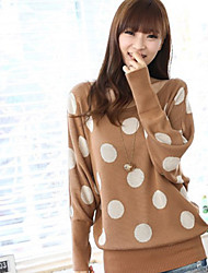 HSTYLE manga Batwing suéter Dots