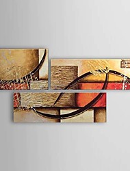 Hand Painted Oil Painting Abstract Set of 3 1303-AB0400