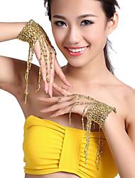 Suorituskyky Dancewear Tupsut Vatsatanssi Rannekoru For Ladies Lisää värejä (1 kpl)