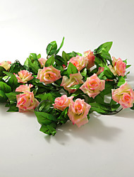 Wedding Décor 2m (6.5ft)Pretty Pink Rose Vine Decoration