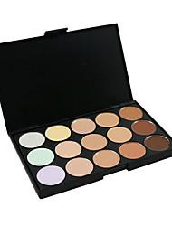 15 Couleur Camouflage Concealer Palette de maquillage Pro