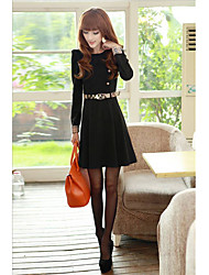 CHAOLIU OL Style Jersey Skater Dress(incl. belt)
