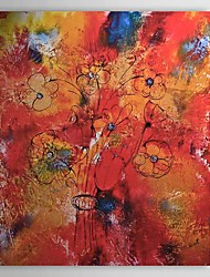 Hand Painted Oil Painting Abstract Floral 1303-AB0426