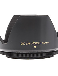 Mennon 55mm Lens Hood for Digital Camera Lenses 16mm+, Film Lenses 28mm+