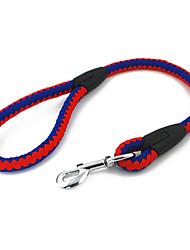 Doppel-color Amerika Style Feine Round Rope Kurze Leine für Hunde