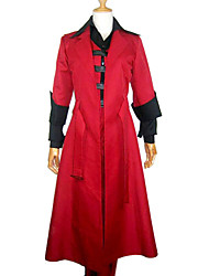 Inspired by Devil May Cry Dante Video Game Cosplay Costumes Cosplay Suits Patchwork Red Long SleeveCloak / Vest / Pants / Gloves /