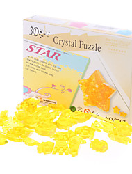 Puzzles 3D - Puzzle / Kristallpuzzle Bausteine DIY Spielzeug Sternförmige ABS Gold Model & Building Toy