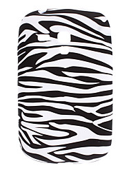 Zebra Stripe Pattern-TPU Funda para Samsung Galaxy S3 Mini I8910