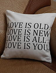 """Gifts Bridesmaid Gift Personalized """"Love Is…""""Pillow Case (Pillow not included)"""
