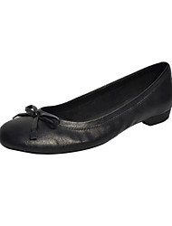 Gorgeous Leatherette Flat Heel Loafers & Slip-ons With Bowknot Party / Evening Shoes