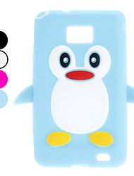 Penguin Conception Soft Case pour Samsung Galaxy S2 I9100 (couleurs assorties)