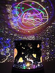 """Love You"" Revolving LED Lamp/Music Box(Ramdon Color)"