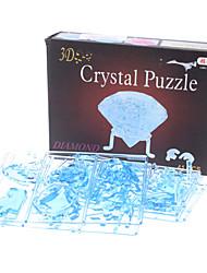 Jigsaw Puzzles 3D Puzzles / Crystal Puzzles Building Blocks DIY Toys Diamond 41Pcs ABS Blue Model & Building Toy