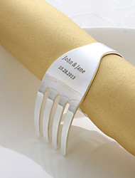 Personalized Fork Design Napkin Ring