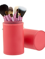 12Pcs professional Makeup Brush (Color Dandom)