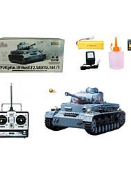 1:16 RC Tank F2 Ⅳ Alemania a base de radio control remoto juguetes de humo Tanque Tanque de apoyo