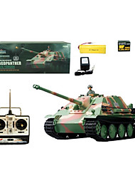 1:16 RC Tanks Military Radio Remote Control Germany Jagdpanther Fighter tank Heavy Anti-tank Toys