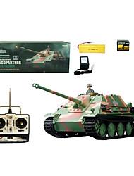 1:16 Tanques RC Radio Remote Control Militar de Alemania Jagdpanther tanque de combate pesados antitanque Juguetes