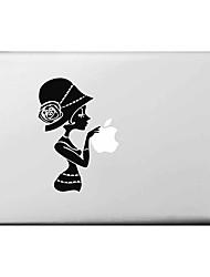 """Modello Decal Sticker copertura della ragazza Apple Mac pelle per 11 """"13"""" 15 """"MacBook Air Pro"""