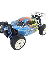 Échelle 1:16 RC Truck électrique alimenté 4WD Off-Road Racing Cross-Country Autoradio distance Camions contrôle Jouets