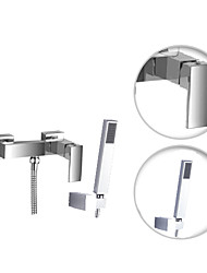 Shower Faucet Contemporary Handshower Included Brass Chrome