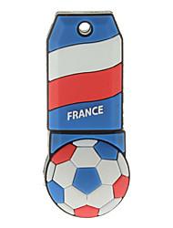 Frankrijk-Ball vormige plastic USB Stick 32G