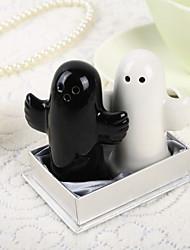 Black & Wihte Keramik Salz-und Pfefferstreuer