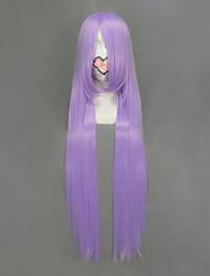 Cosplay Wigs Cosplay Saori Kido Purple Long Anime Cosplay Wigs 100 CM Heat Resistant Fiber Female
