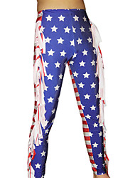 Stars and Stripes Spandex Pants