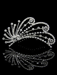 Amazing Alloy With Rhinestone Wedding Tiaras