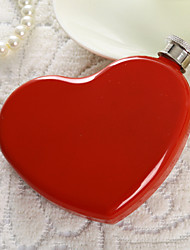 Gift Groomsman /Bridesmaid Pretty Heart Shaped 4-oz Flask