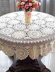 51 Inch Crochet Tovaglia rotonda