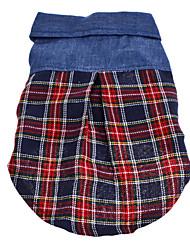 T-shirt voor honden Blauw Lente/Herfst XS / S / M / L / XL Textiel Binnenwerk