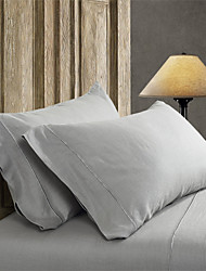Simple&Opulence® 2-Pack Pillowcase set, 100% Linen Solid Handcraft