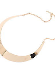 Women's Choker Necklaces Alloy Simple Style Punk Jewelry Party Daily
