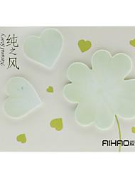 Folhas Set Nota Shaped ler Memo (Verde)