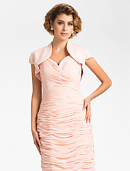 Wedding / Party/Evening Chiffon Coats/Jackets Short Sleeve Wedding  Wraps