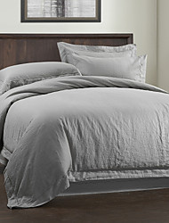 Solid Linen Duvet Cover Sets