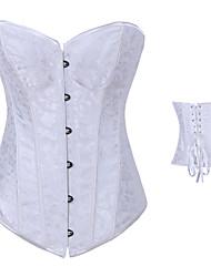 Estilo simple Satin Classic Lolita Corset