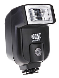 YINYAN CY-20 Small Mini Hot Shoe Flash with PC Sync Port for Canon NIKON DC DSLR