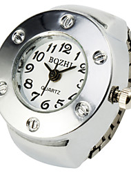 Lovely Alloy Round Ring Watch