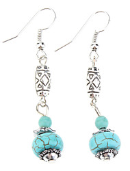 Earring Drop Earrings Jewelry Women Party / Daily Gem / Turquoise Light Blue