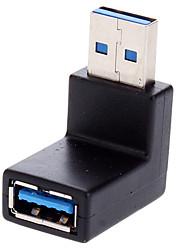Adaptateur USB 3.0 vers le bas de 90 degrés