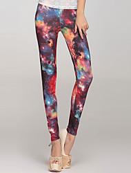 Estrela do Programa Legging Galaxy (Hip :90-104 centímetros Comprimento: 105 centímetros)
